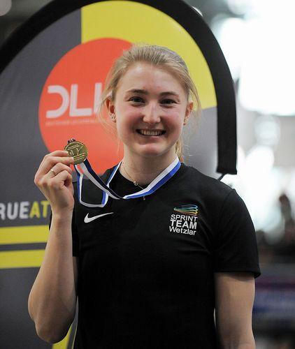 Doppelsiege für Denise Uphoff und Homiyu Tesfaye bei den süddeutschen Hallen-Meisterschaften in Sindelfingen.