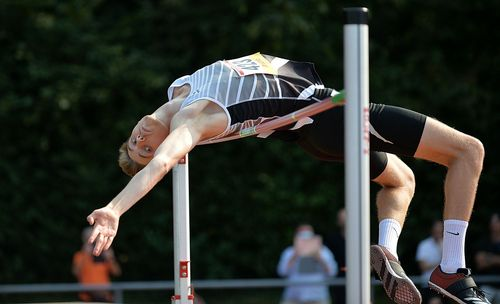 HM (Männer) in Friedberg: Doppelsieg im Sprint durch Florian Daum - starker Hochsprung von Philipp Heckmann