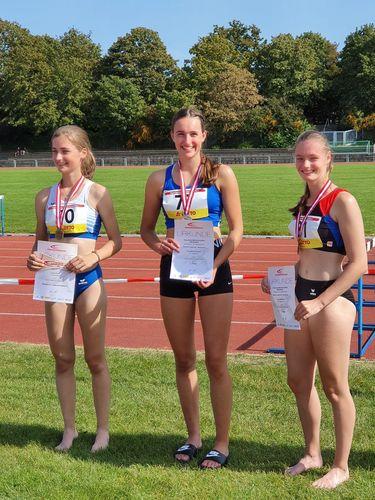 Hessische Meisterschaften im Mehrkampf vergangenes Wochenende in Darmstadt